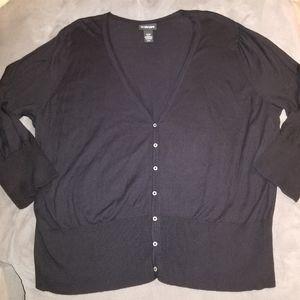Lane Bryant Cardigan Sweater Women's Plus 26/28 3X